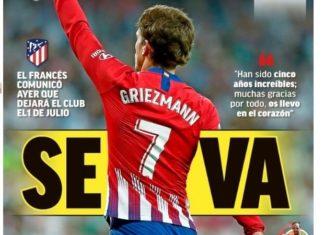 Portadas Deportivas 15/05/2019
