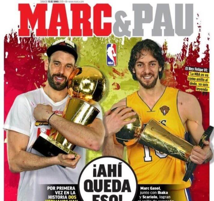 Portadas Deportivas 15/06/2019