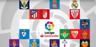 Calendario Liga Española 2019-2020