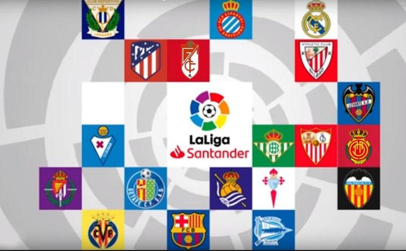 Calendario Liga Santander 2019 20 Betis.Calendario Liga Espanola 2019 2020 Fixture Almanaque