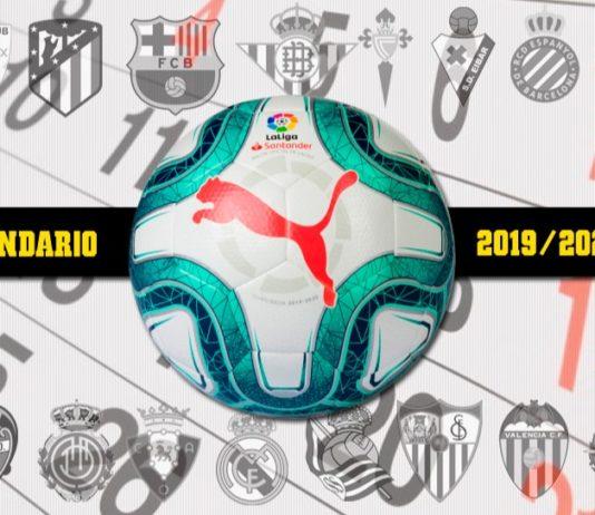 Calendario Liga Española 2019
