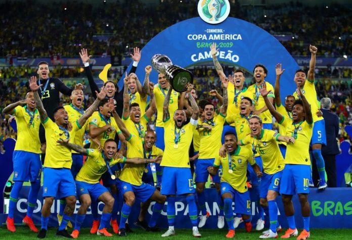 Imágenes Brasil Campeón Copa América 2019
