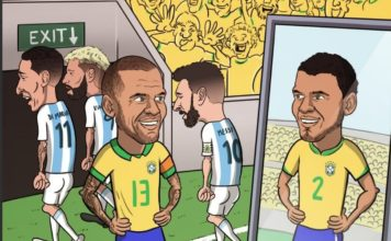 Memes Brasil-Argentina Copa América 2019