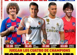 Portadas Deportivas 23/07/2019