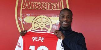 Nicolas Pépé ficha por el Arsenal