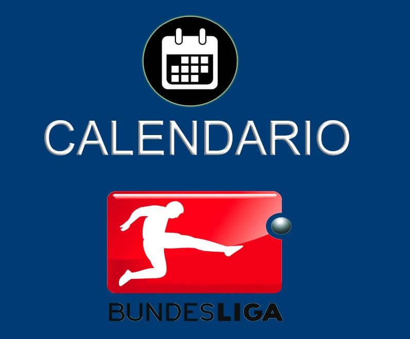 Bundesliga Calendario.Calendario Bundesliga Tabla De Posiciones Y Resultados De