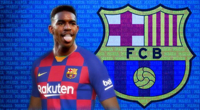 Junior Firpo ficha por el Barça hasta 2024