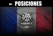 Tabla de Posiciones Ligue 1 Francia