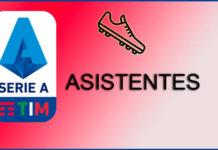 Máximos Asistentes Serie A 2019-2020