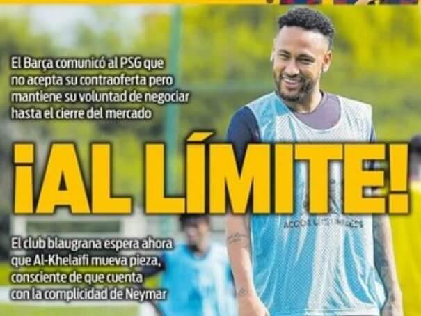 Portadas Deportivas 31/08/2019