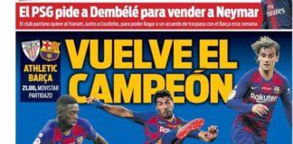 Portadas Deportivas 16/08/2019