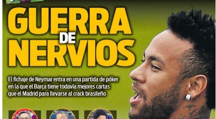 Portadas Deportivas 18/08/2019
