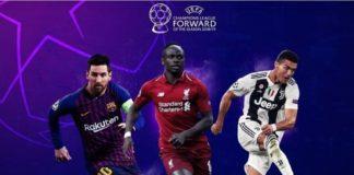 Nominados a los Premios UEFA Champions 2018-2019