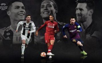 Los 3 finalistas al UEFA Best Player 2019