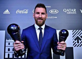 Lionel Messi FIFA The Best 2019