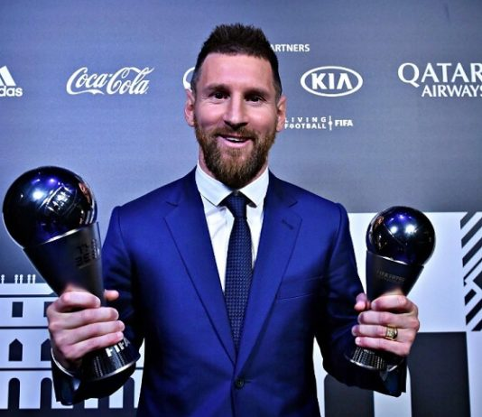 Lionel Messi FIFA The Best 2019