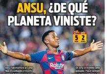 Portadas Deportivas 15/09/2019