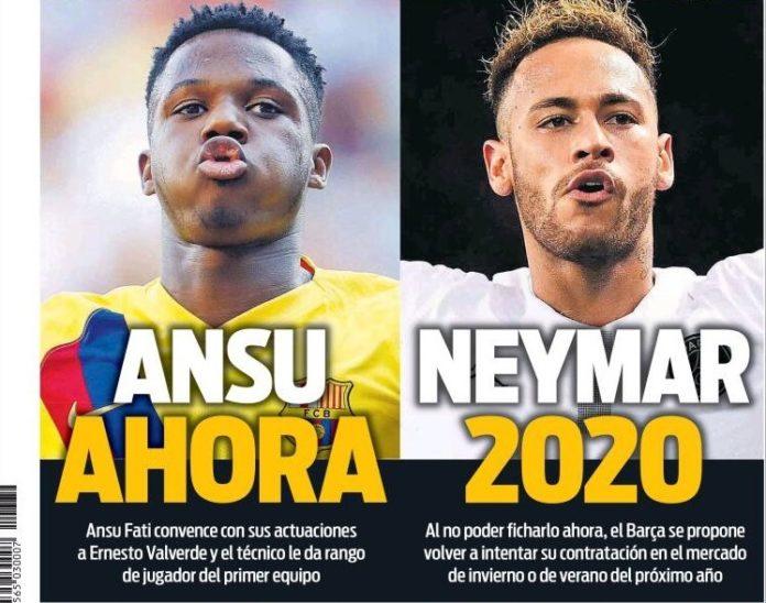 Portadas Deportivas 2/09/2019