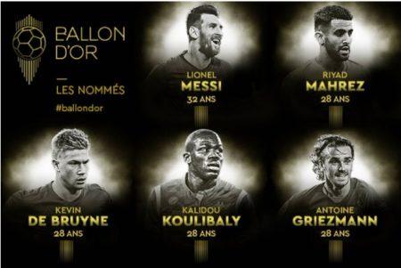 Los 30 Candidatos al Balón de Oro 2019   Ballon d'Or Nominados