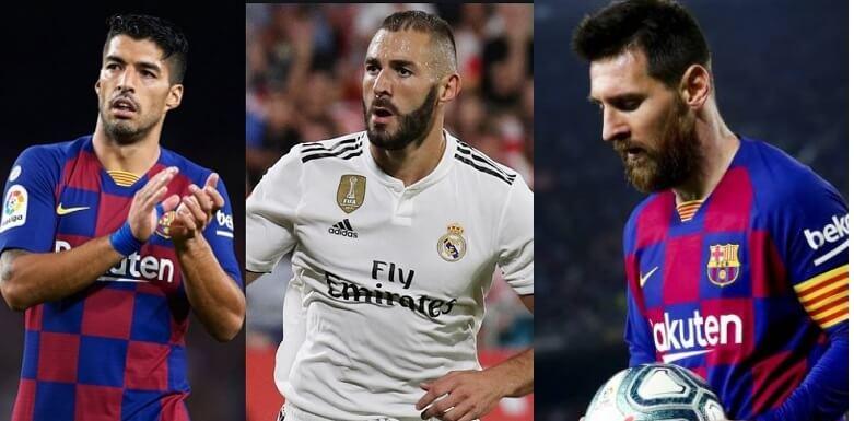 Goleadores Liga Española 2020