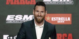 Leo Messi Bota de Oro 2019