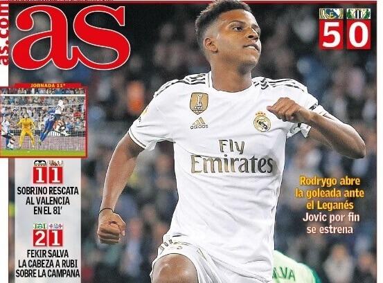 Portadas Deportivas 31/10/2019