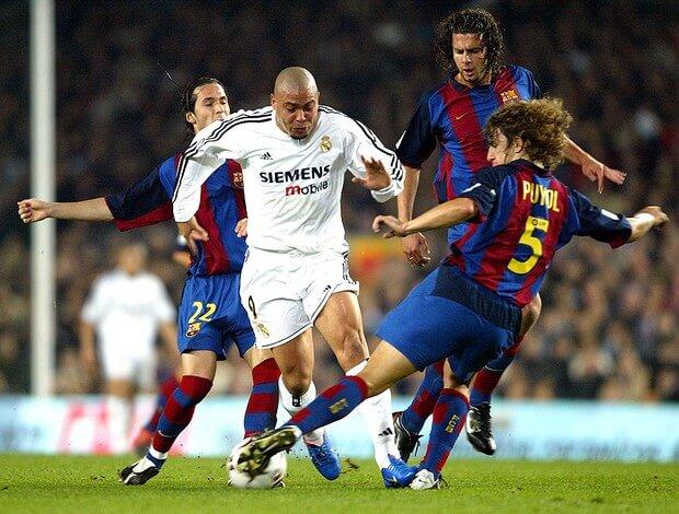 Ronaldo Nazario Madrird-Barça 2003