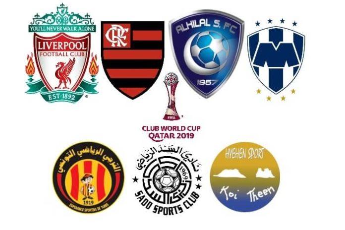 Calendario Mundial de Clubes 2019