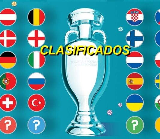 Clasificados Eurocopa 2020