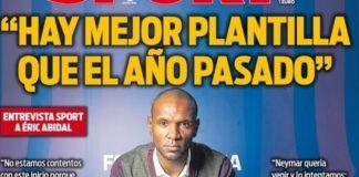Portadas Diarios Deportivos 17/11/2019