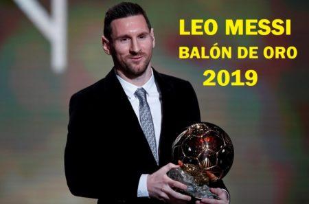 Lionel Messi Balón de Oro 2019   El Sexto para Balón Leo