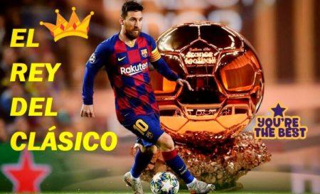 Leo Messi El Rey del Clásico | Números de Leyenda