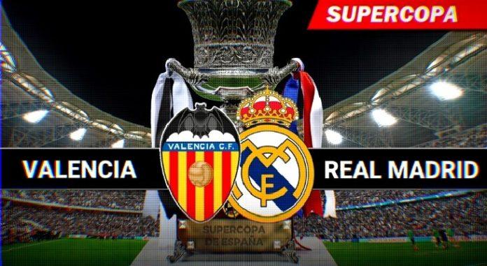 Valencia-Real Madrid Supercopa