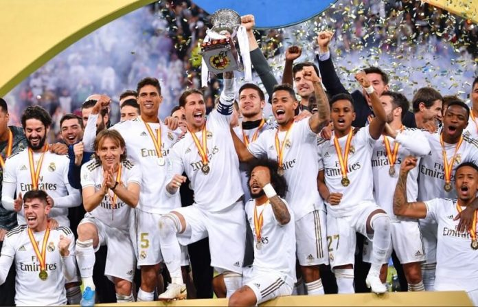 Real Madrid Campeón Supercopa de España 2020