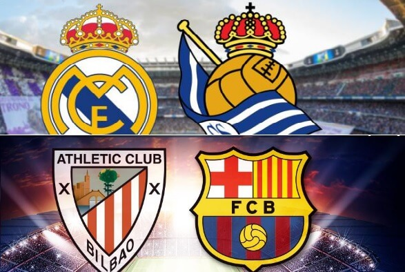 Alineación Madrid-Real Sociedad y Athletic-Barça | Copa del Rey
