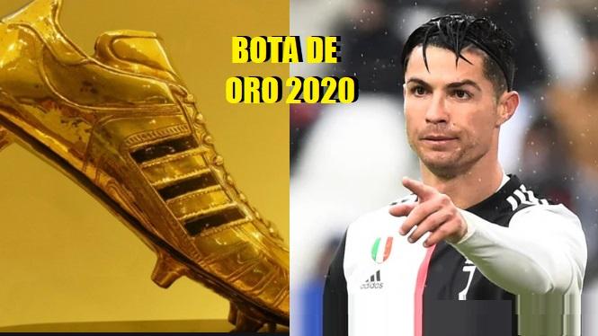 Cristiano Ronaldo quiere la Bota de Oro 2020