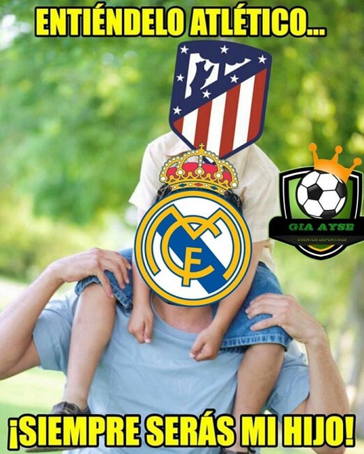 memes real madrid atletico madrid