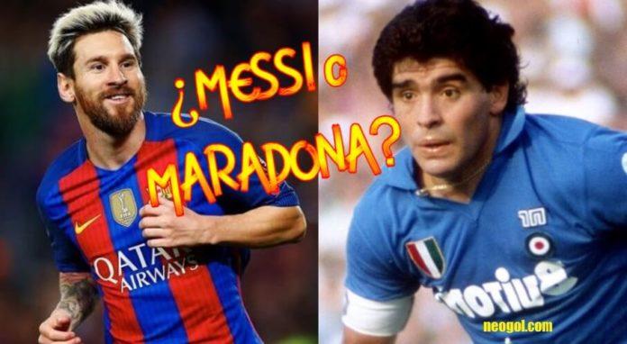 Leo Messi o Maradona