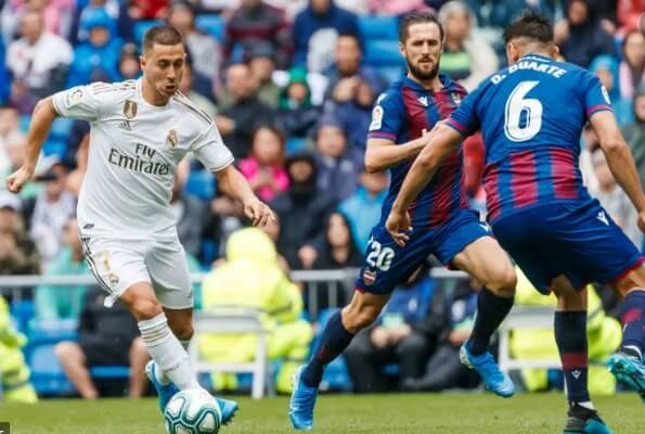 Alineación Levante-Real Madrid Jornada 25 | La Liga 2020