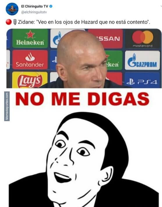 Memes Real Madrid-Manchester City Octavos Champions 2020