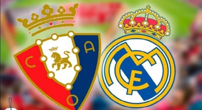 Alineación Osasuna-Real Madrid Jornada 23