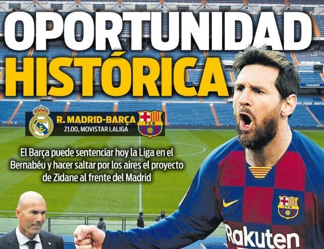 Portadas Diarios Deportivos Domingo 1