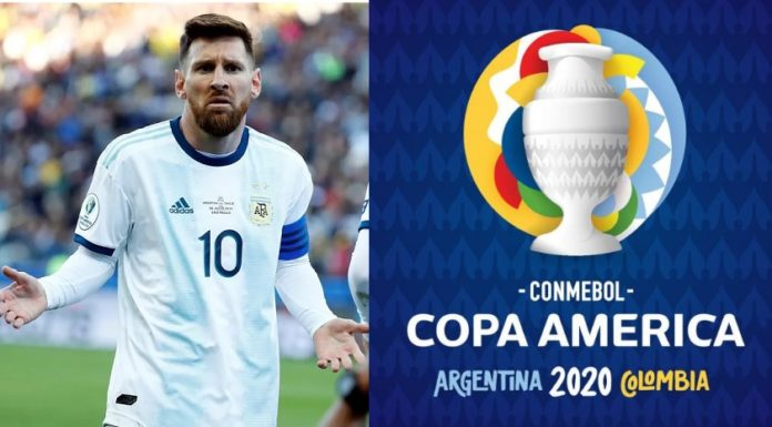 Conmebol aplaza la Copa América hasta 2021