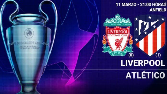 Alineación Liverpool-Atlético