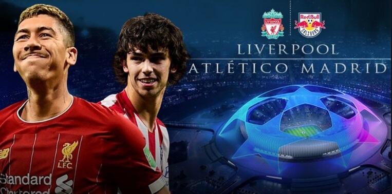 Alineación Liverpool-Atlético   Octavos Champions 2020