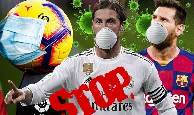 La Liga Suspendida por Coronavirus