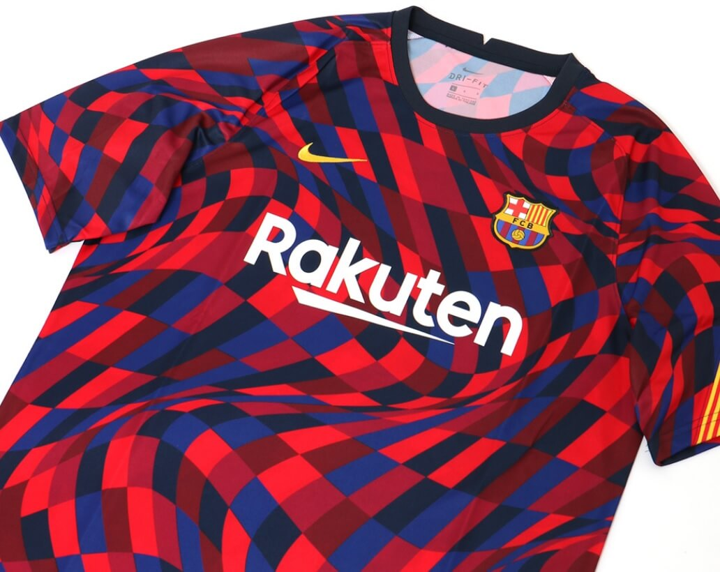 Camiseta de entrenamiento FC Barcelona 2020-2021