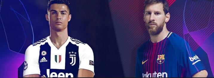 Cristiano Ronaldo vs. Messi en Champions