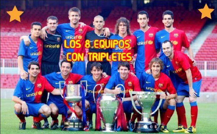 Los Equipos que Ganaron el Triplete en Europa