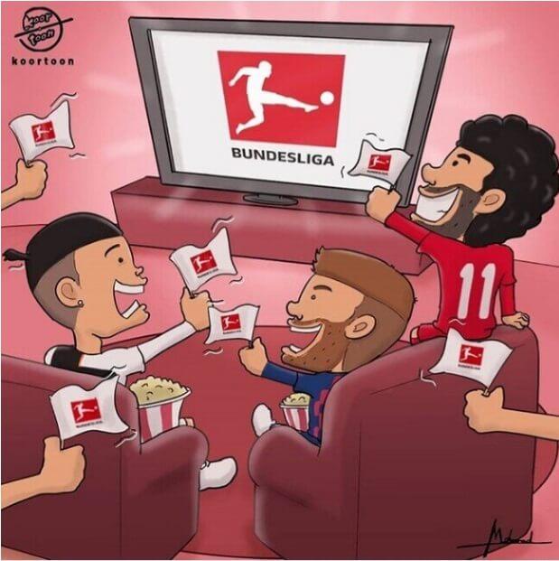 Los Memes por la Vuelta del Fútbol en Alemania